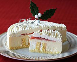 ルタオのクリスマスケーキの画像