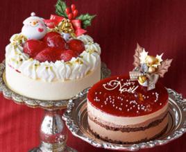 ルタオのクリスマスケーキ(いちご)