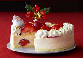 ルタオのクリスマスケーキ(サンタ)
