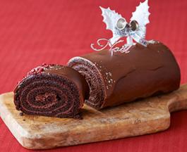 ルタオのクリスマスケーキ(チョコレート2)