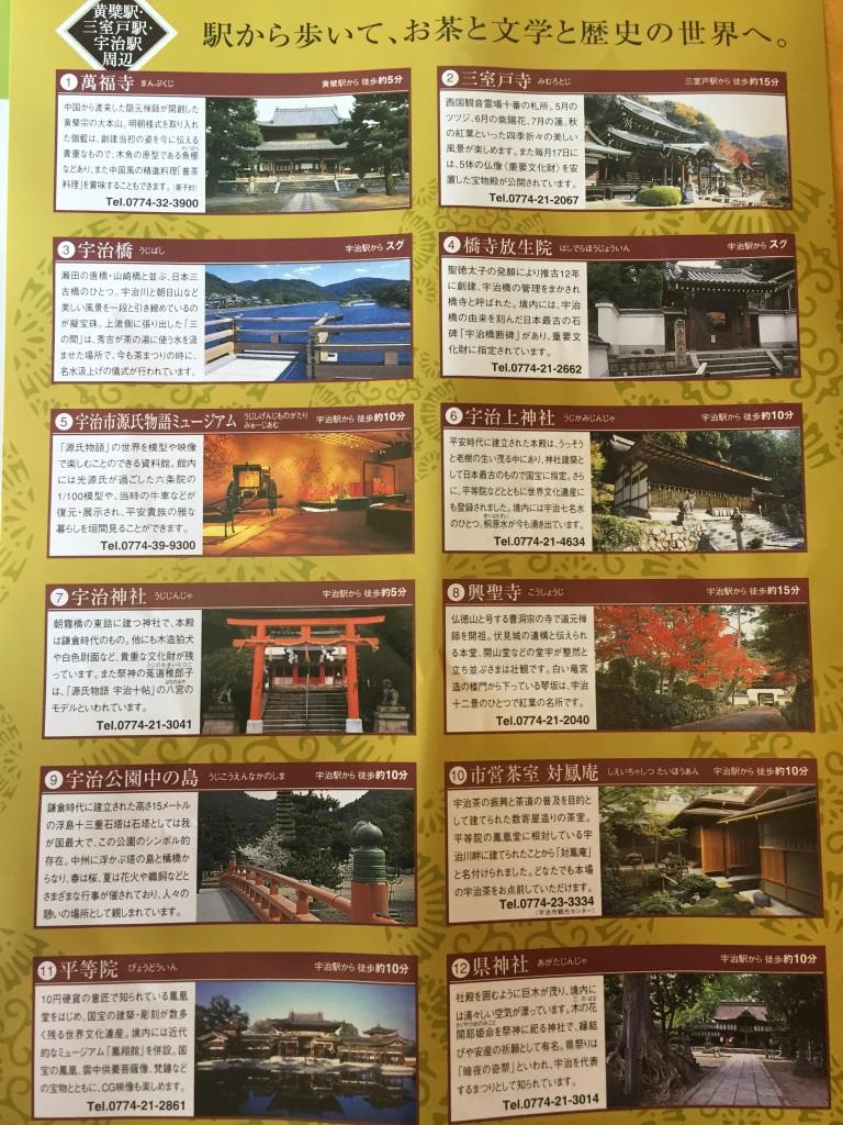 京都宇治の観光名所