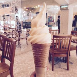 ルタオのソフトクリーム