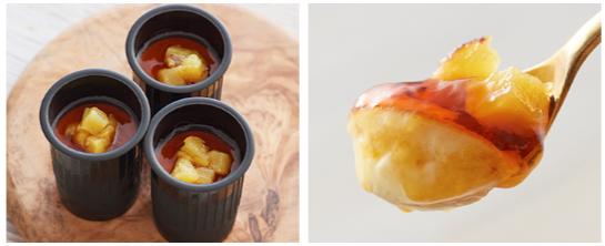 クレームフロマージュ~カラメルとさつまいも~ _ チーズケーキ