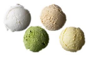 生グラス アイスクリーム