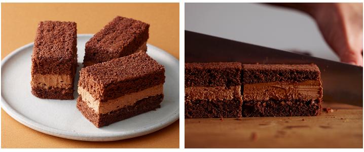 ルタオのバレンタインチョコレートケーキ・チョコリッセ