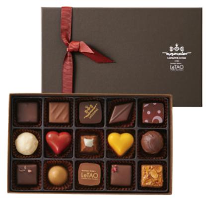 バレンタインチョコレート ルタオ