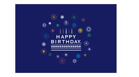 ルタオの誕生日カード