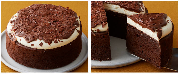 ルタオのバレンタインチョコレートケーキ ベルコリーヌ