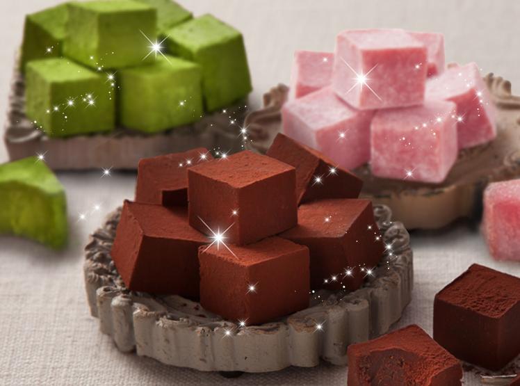 神戸フランツの生チョコレート