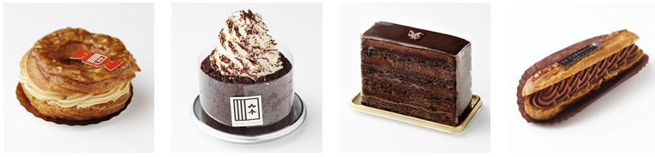 アンリー・ルルーのケーキ